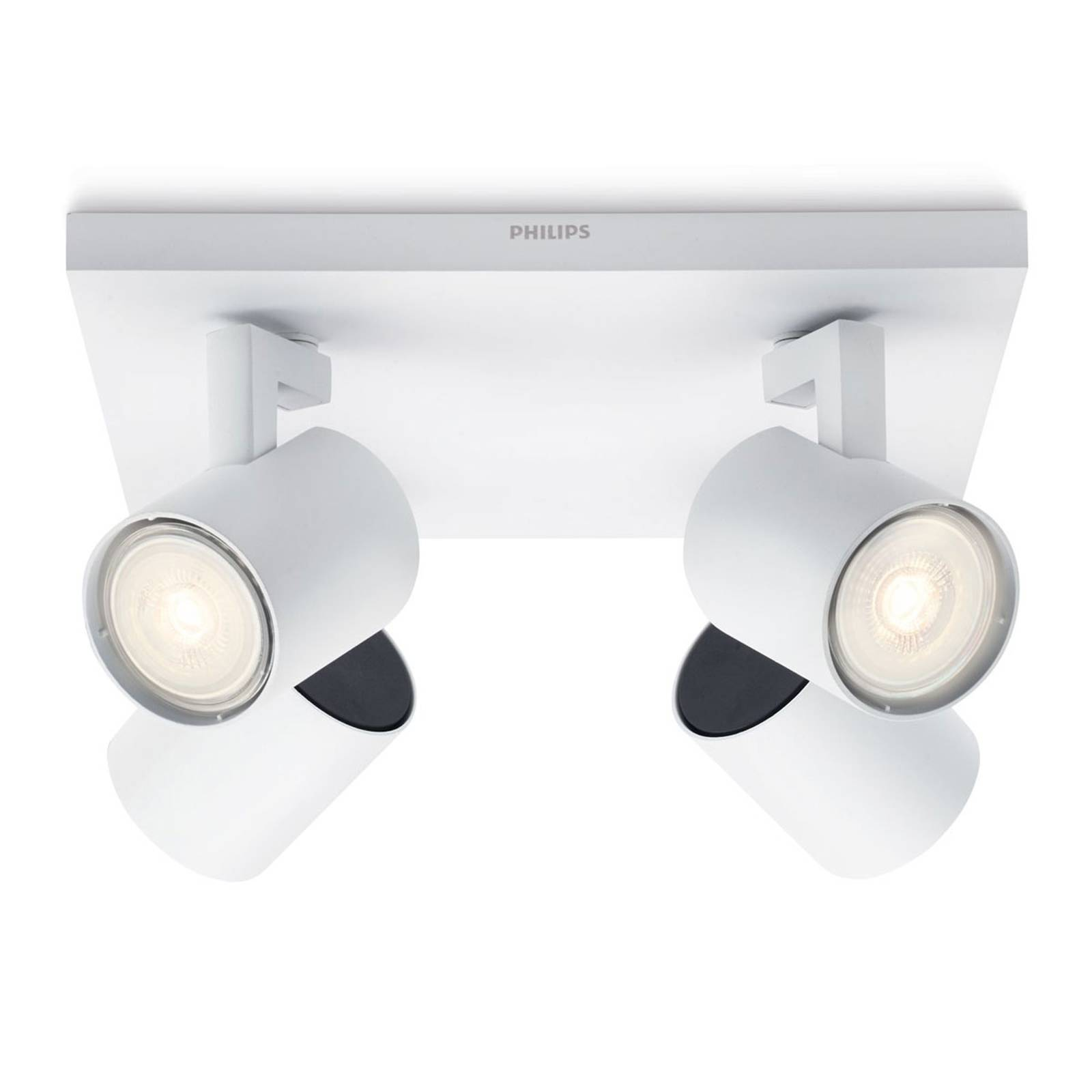 Philips Runner LED-kattovalaisin 4-lamppuinen