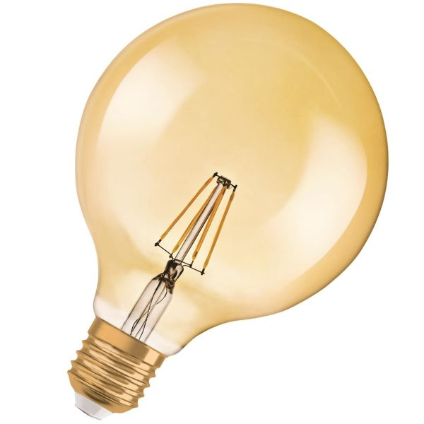 Osram VINTAGE EDITION 1906 GLOBE LED-lampe 6,5 W/824 E27