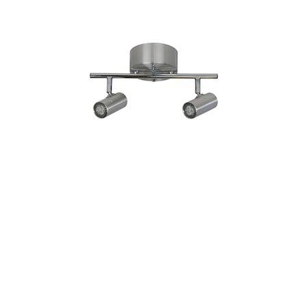 Cato Skinne Alu 2-spot Dimbar LED 132 cm