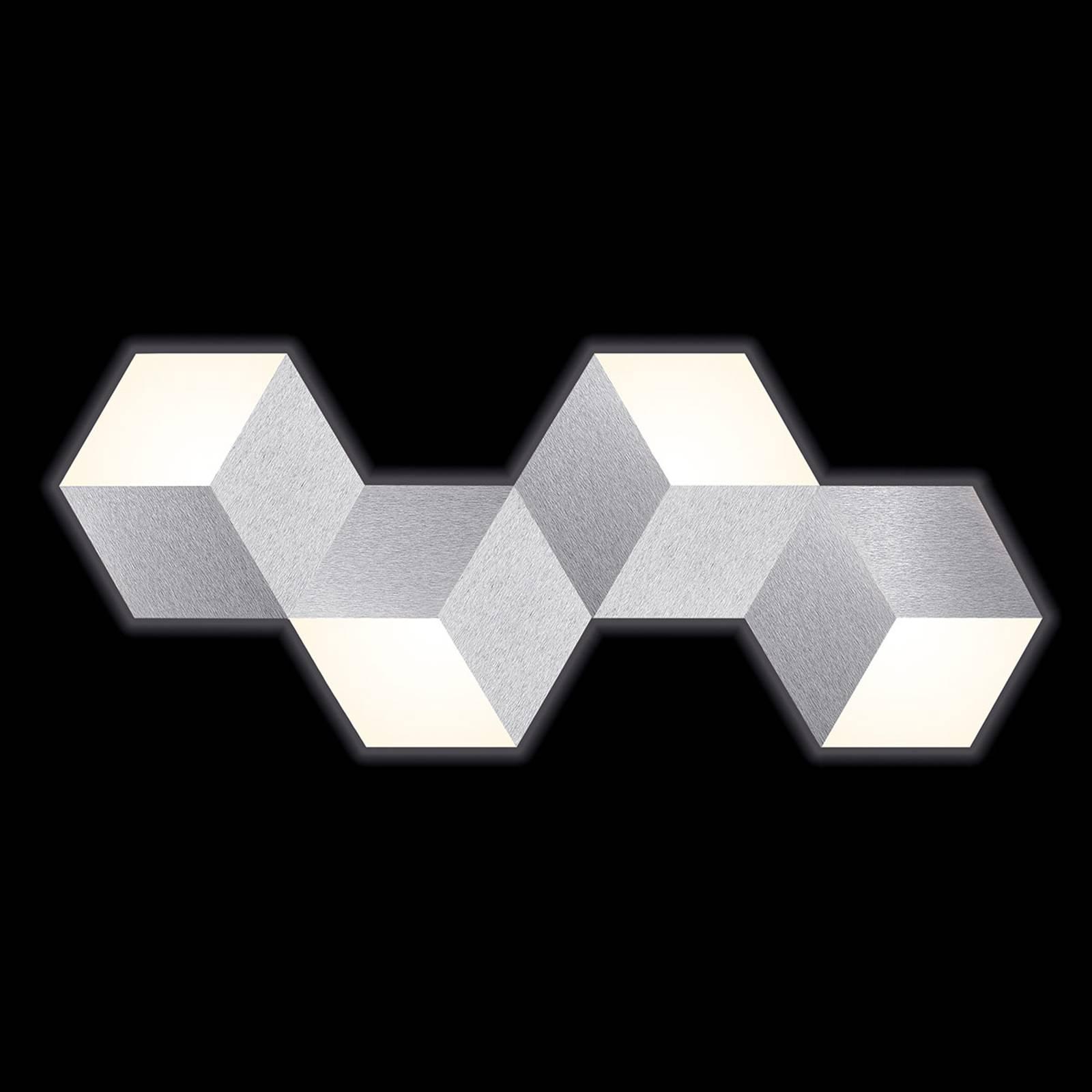 GROSSMANN Geo LED-seinävalaisin, abstrakti muoto