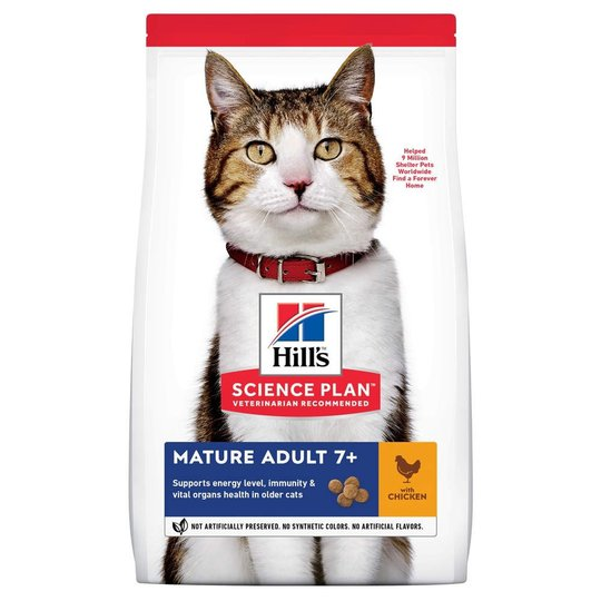 Hill's Science Plan Cat Mature Adult 7+ Chicken (1,5 kg)