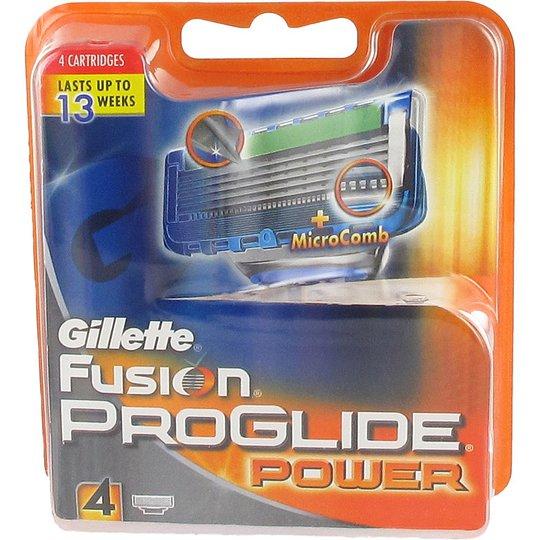 Fusion ProGlide Power, Gillette Partahöylät ja partaterät