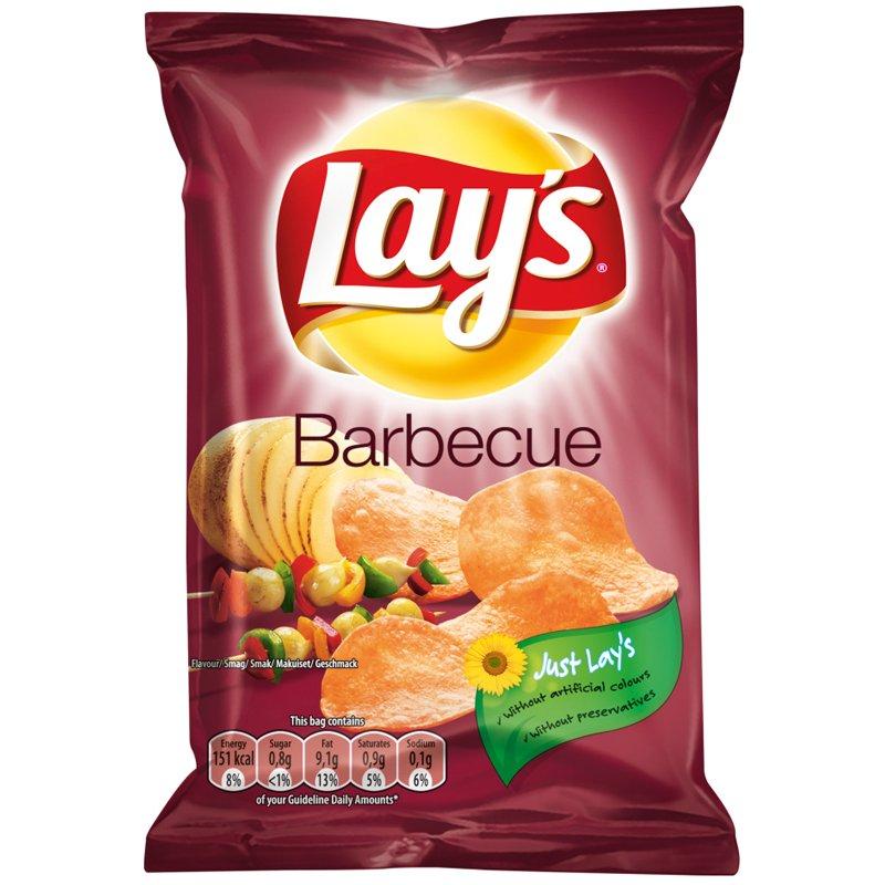 Lay's Perunalastu Barbecue - 45% alennus