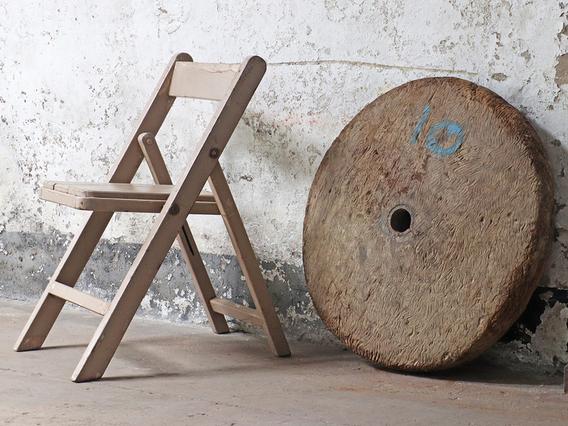 Antique Cart Wheel Large