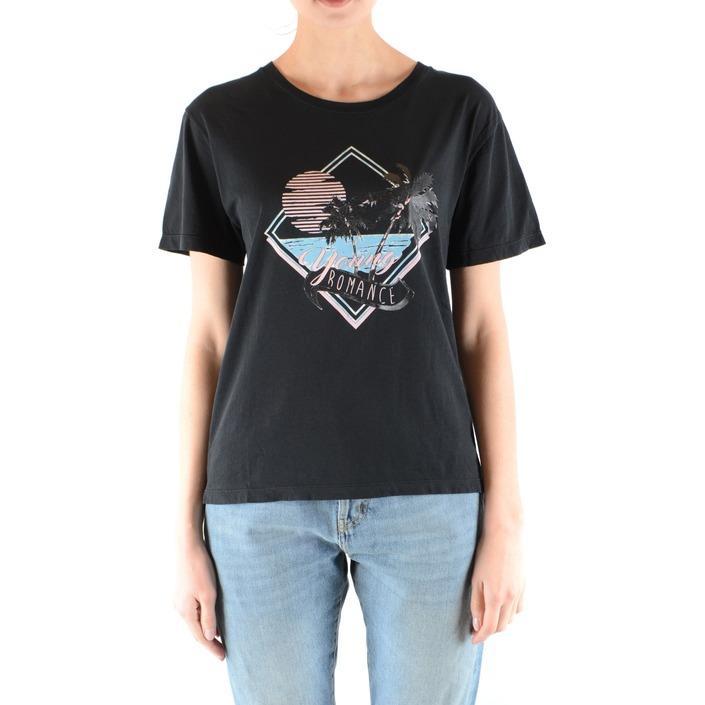 Saint Laurent Women's T-Shirt Black 164912 - black S