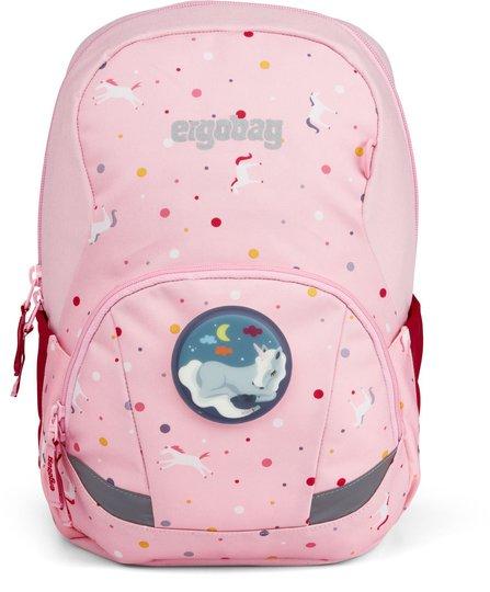 Ergobag Ease Fantasy Ryggsekk 10L, Pink Unicorns