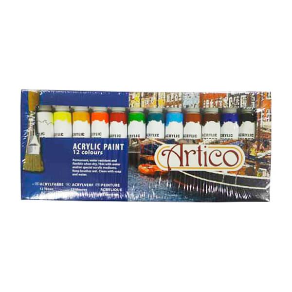 Akrylfärg 12 Pack