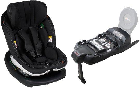 BeSafe iZi Modular RF X1 Ink. Base, Premium Car Interior Black