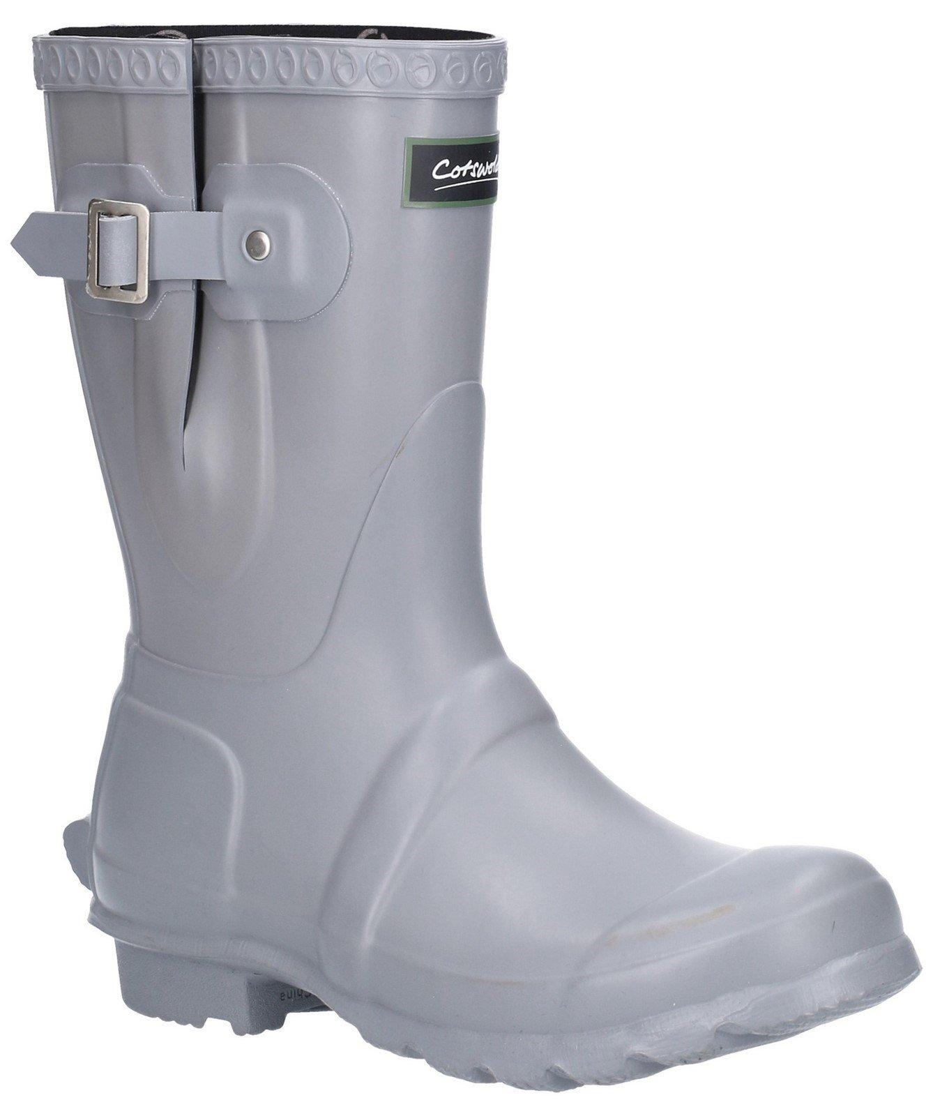 Cotswold Women's Windsor Short Wellington Boot Various Colours 25537 - Slate 3