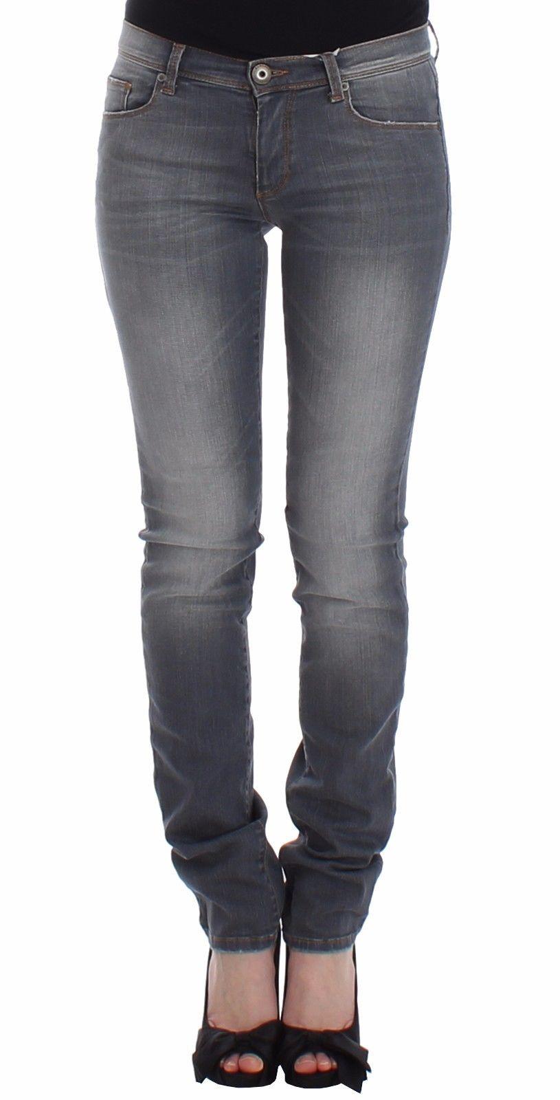Ermanno Scervino Women's Slim Jeans Grey SIG12449 - W26
