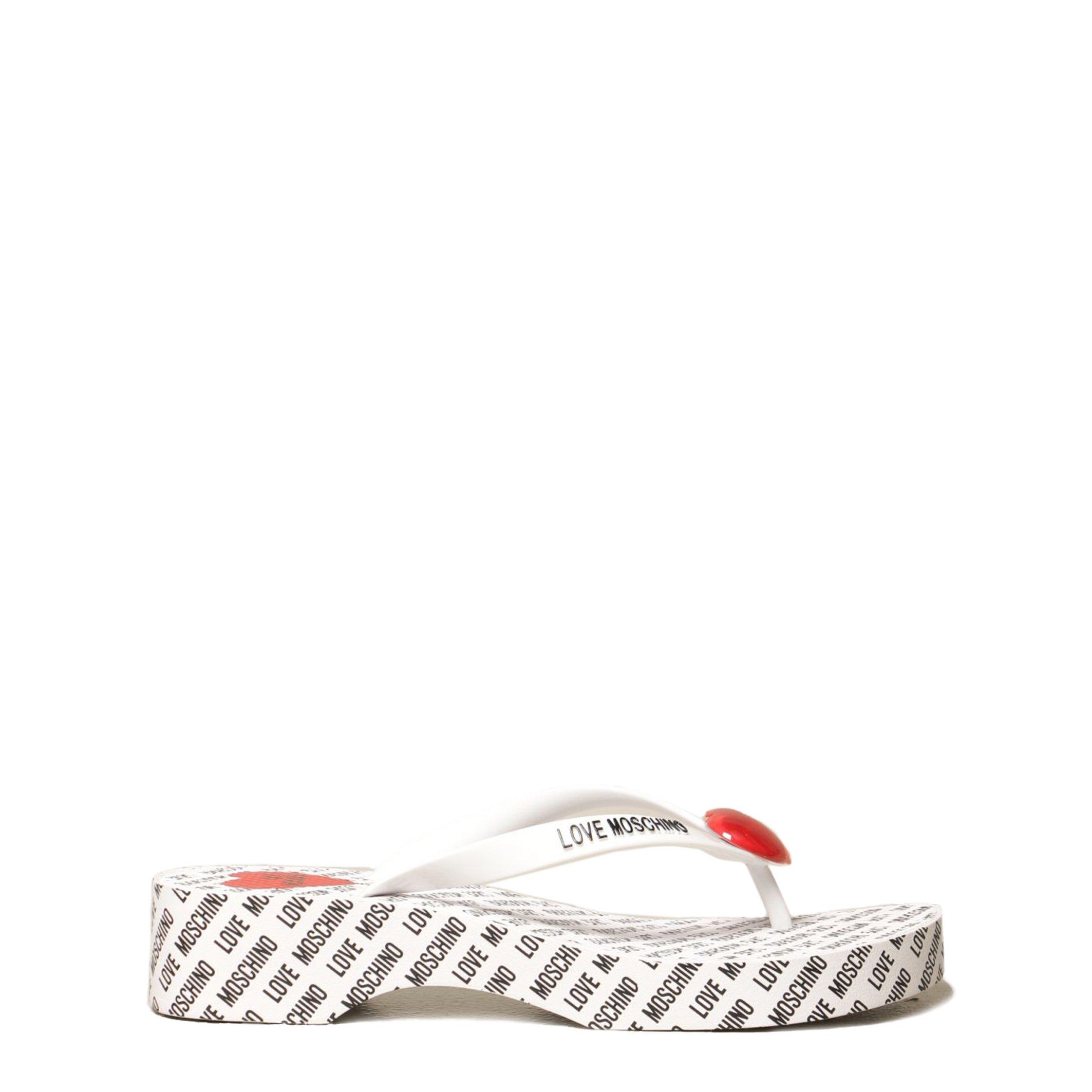 Love Moschino Women's Flip Flop Various Colours JA28174G0CJT0 - white EU 35