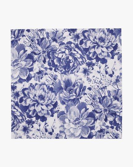 Paperiservetit, Blue Flowers