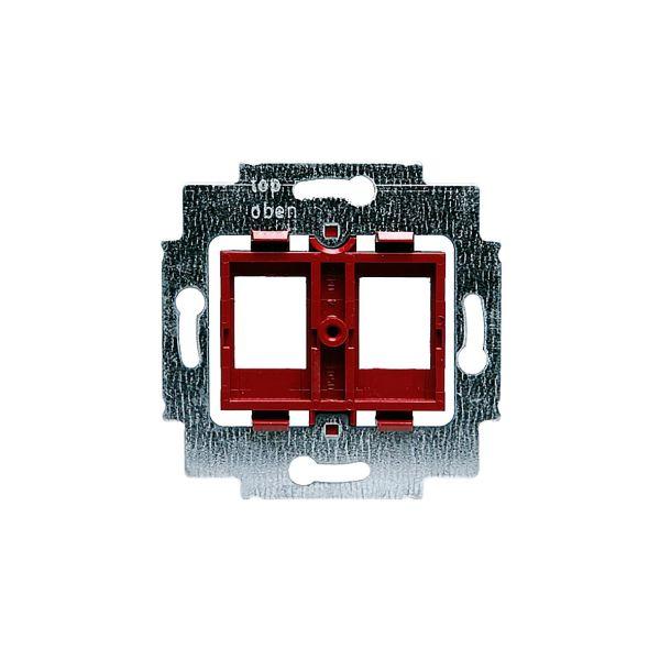 ABB 1812.1 Midtplate 2 x RJ45, Keystone