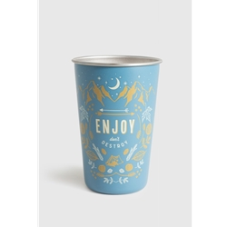 United By Blue Enjoy 16Oz Stainless Steel Tumbler