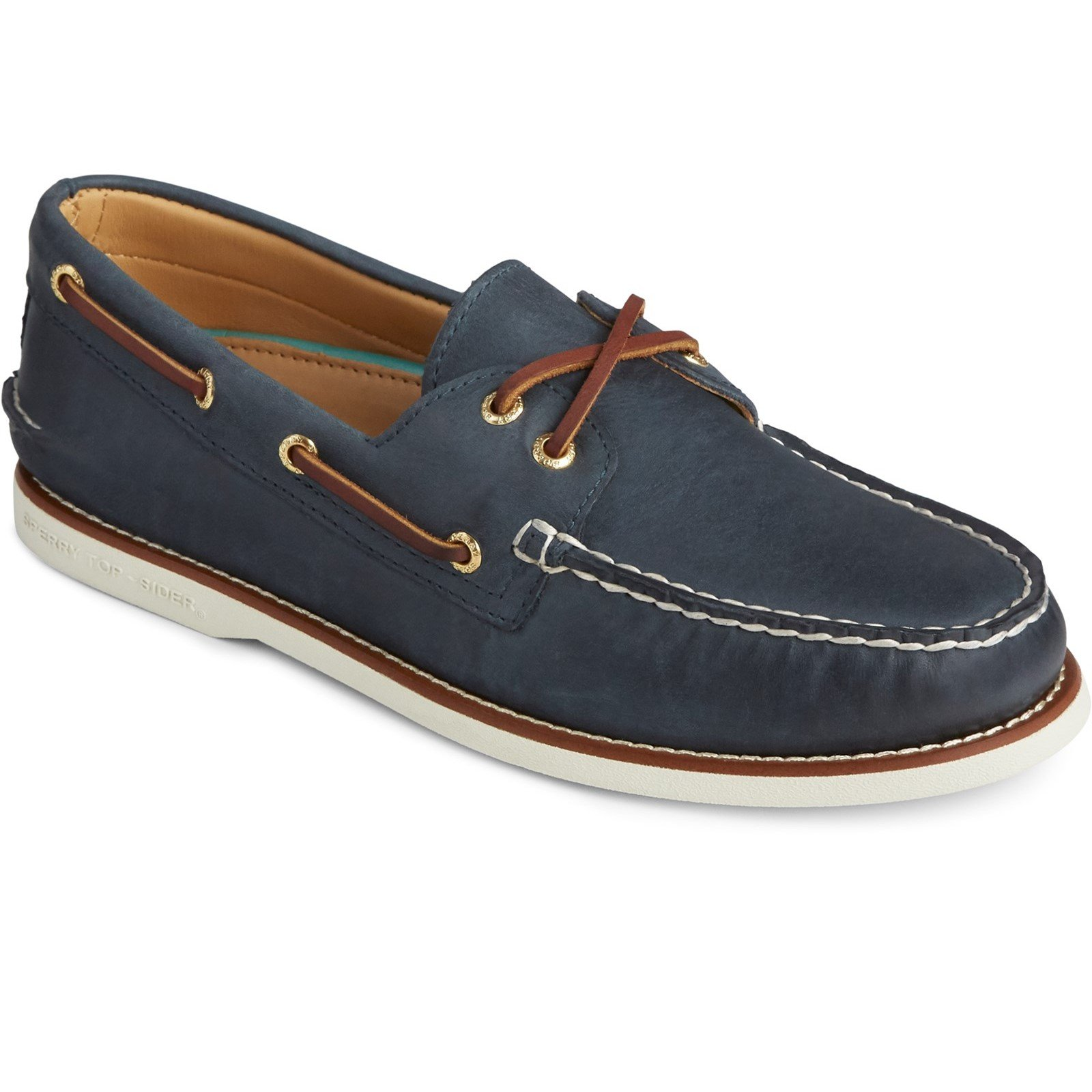 Sperry Men's Cup Authentic Original Boat Shoe Various Colours 31735 - Navy 12
