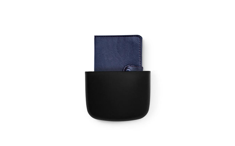 Normann Copenhagen - Pocket Organizer 2 - Black (382020)