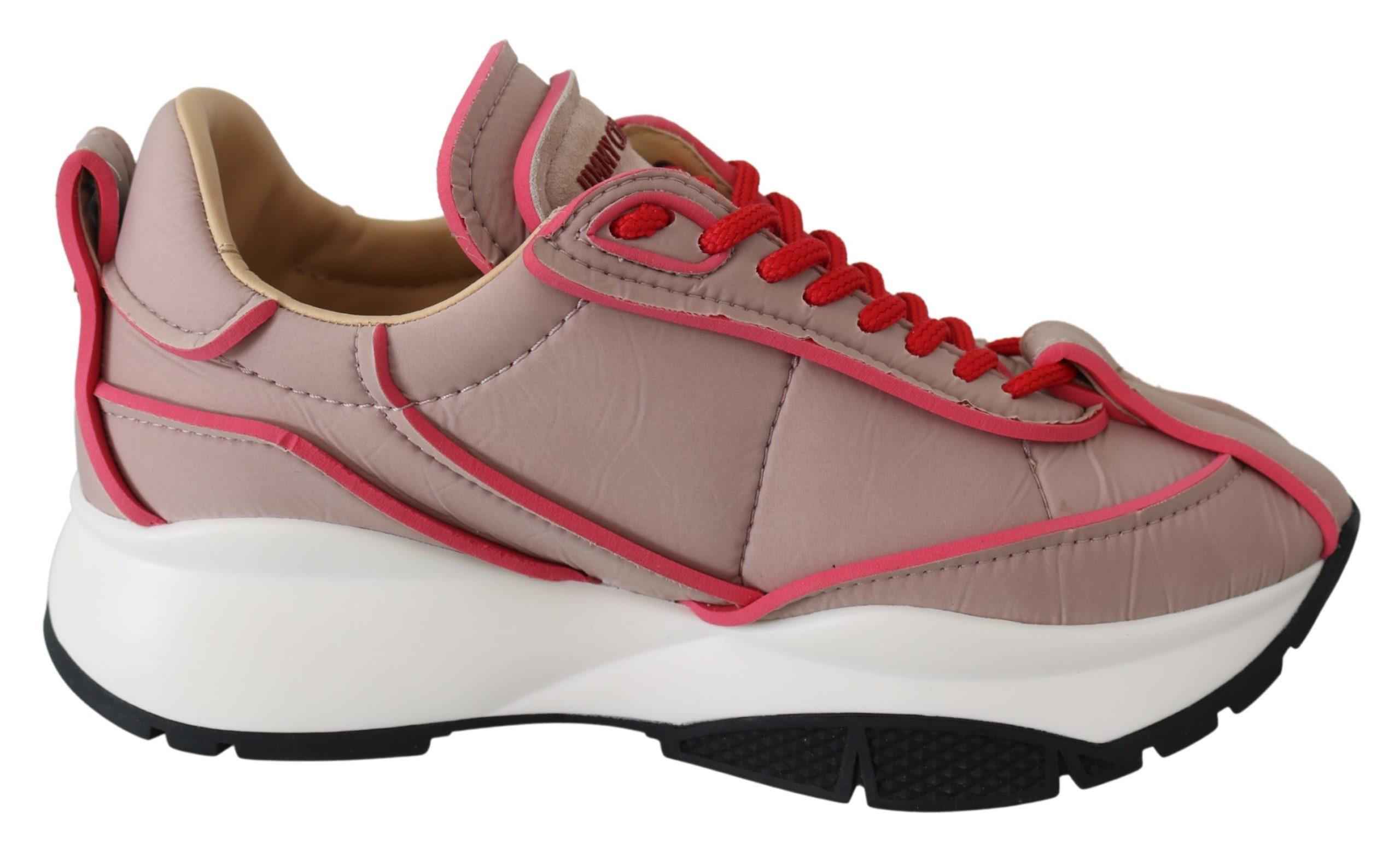 Jimmy Choo Women's Raine Ballet Sneakers Pink 192954474423 - EU35/US5