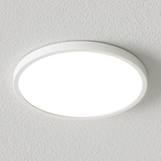 Himmennettävä LED-kattovalaisin Solvie, valkoinen