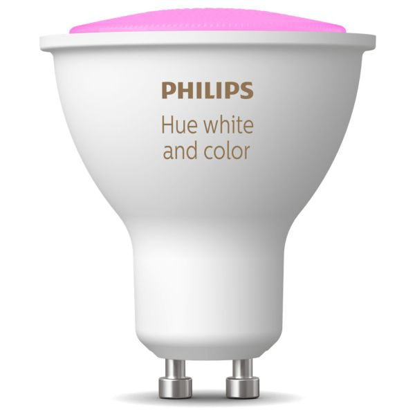 Philips Hue White and Color Ambiance LED-valo 5.7W, GU10