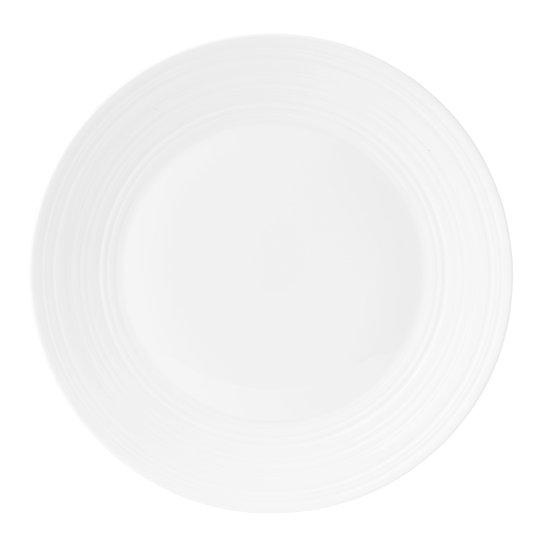 Wedgwood - Jasper Conran Strata White Tallrik flat 27 cm