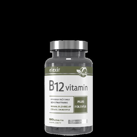 B-12 Vegan, 100 tablettia