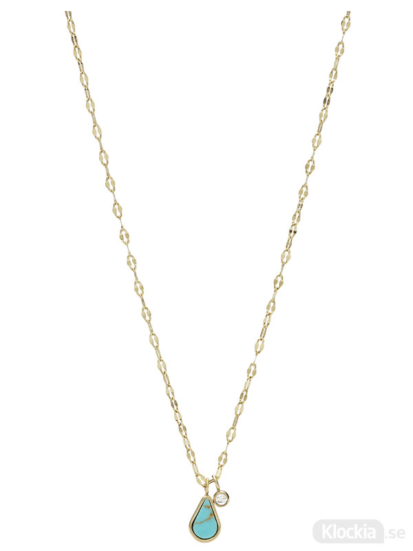 FOSSIL Halsband Fashion – Guld JF03734710 - Damsmycke