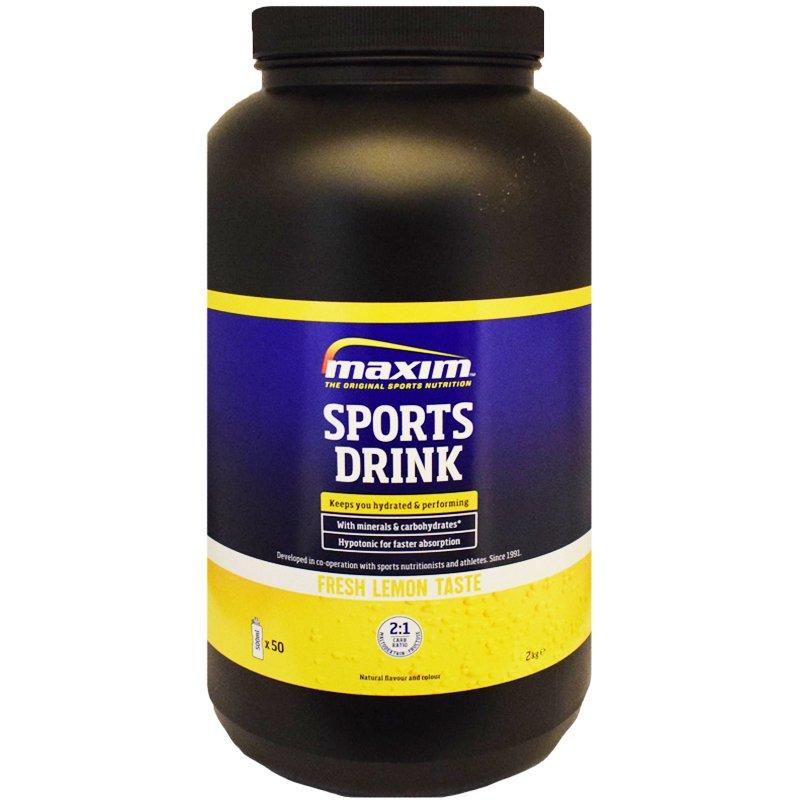Urheilujuomajauhe Sitruuna - 25% alennus