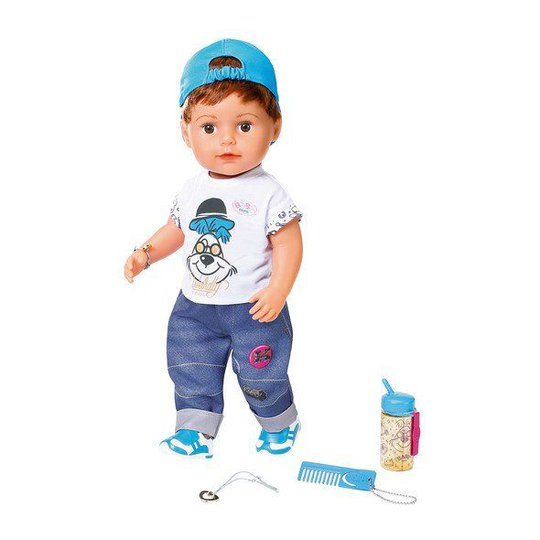 Baby Born Dukke Soft Touch Brother, 43 cm