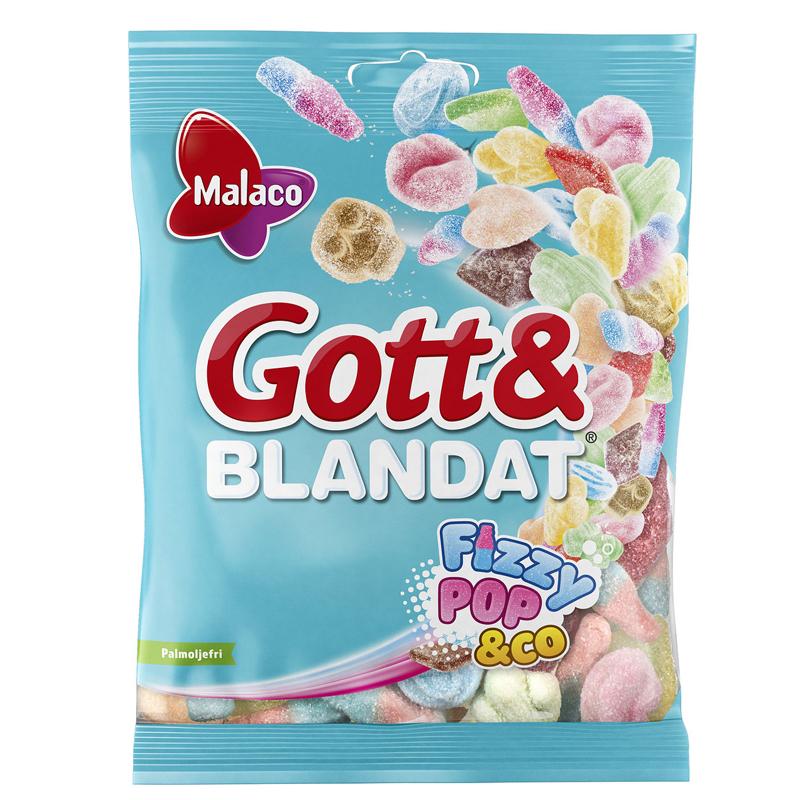Gott & Blandat Fizzypop - 8% alennus