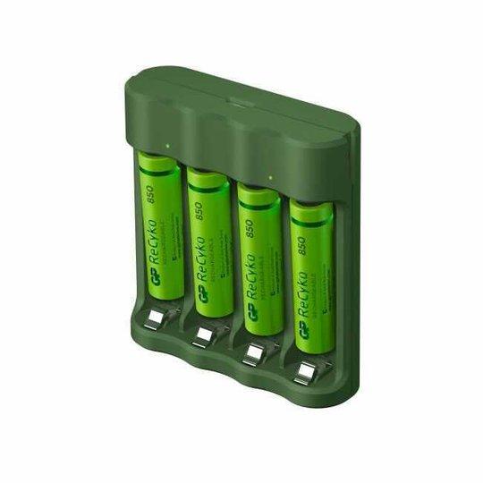 GP ReCyko Everyday Batteriladdare - AAA-batterier