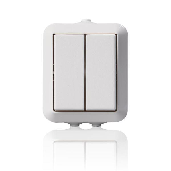 ABB 1065SW Strømstiller IP44 Krone
