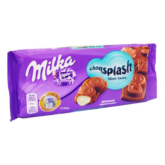 Mjölkchoklad Mintfyllning - 21% rabatt