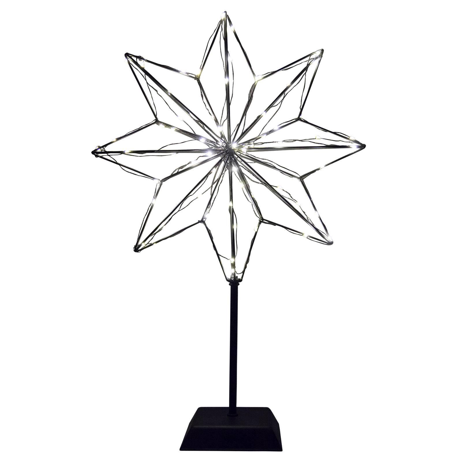 LED-koristevalaisin 3D-tähti