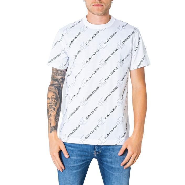 Calvin Klein Jeans Men's T-Shirt White 304958 - white XS