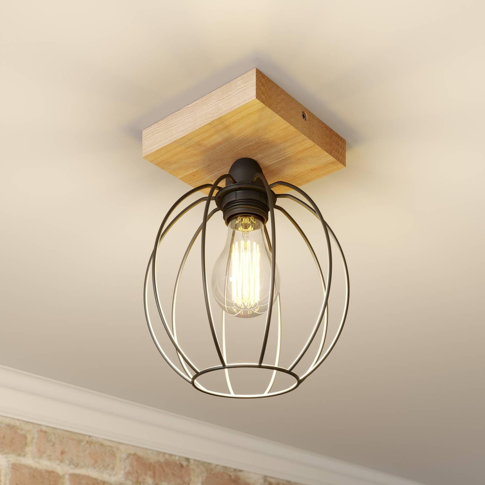 Taklampe Dorett med burskjerm, 1 lyskilde