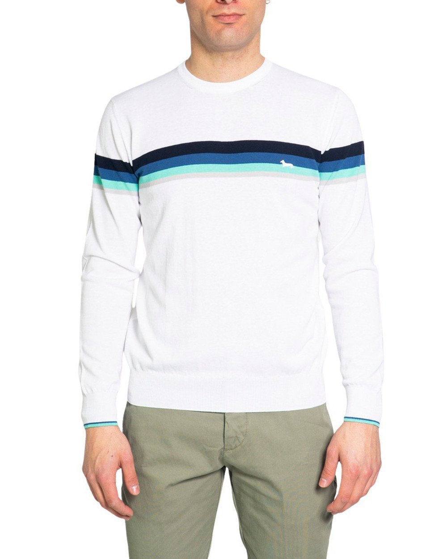 Harmont & Blaine Men's Sweater Various Colours 243517 - white-1 S