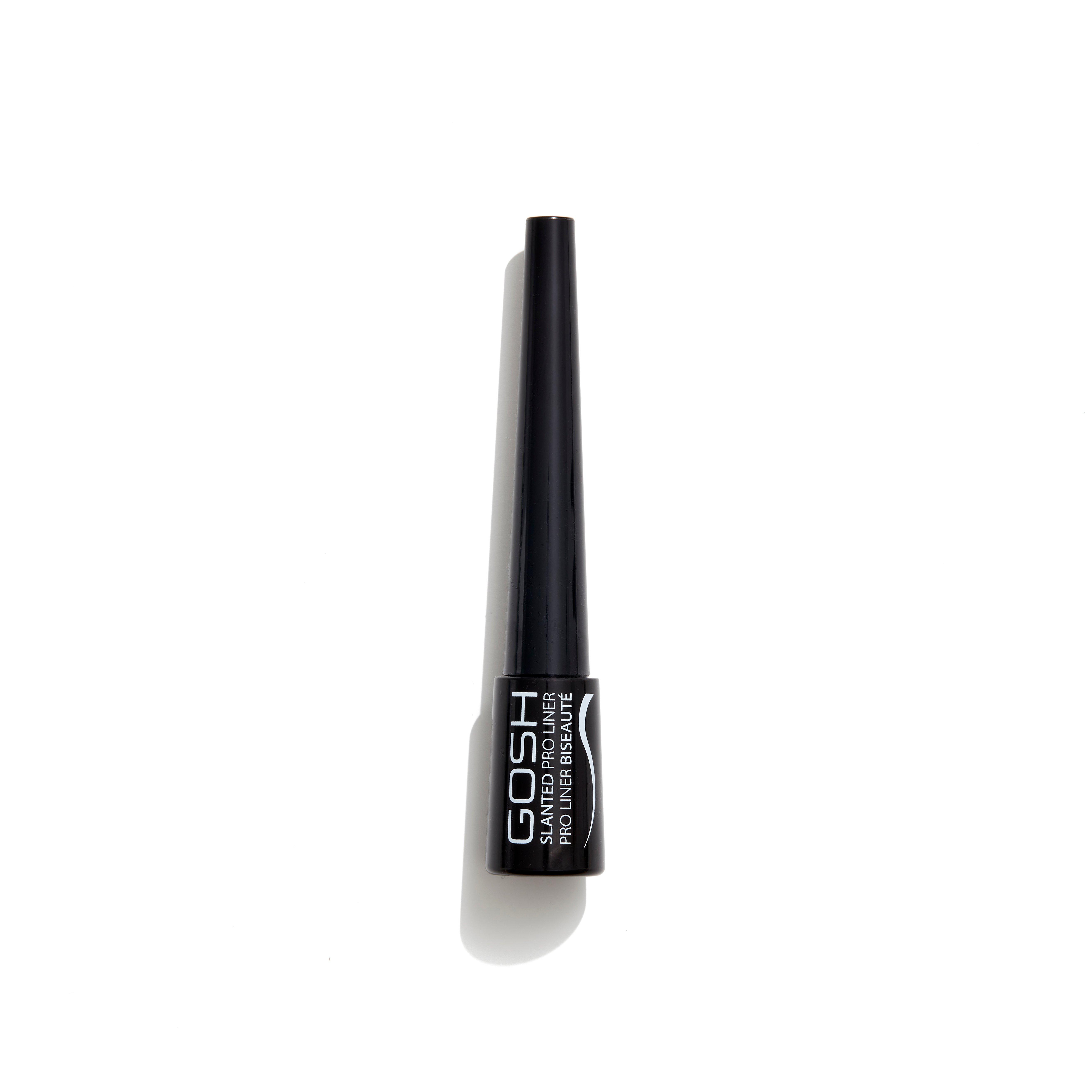 GOSH Copenhagen - Slanted Pro Liner - 001 Intense Black