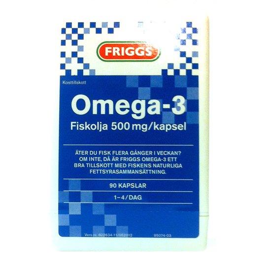 Omega-3 kapslar - 56% rabatt
