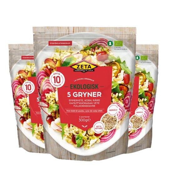 Eko 5 Gryner 3-pack - 45% rabatt