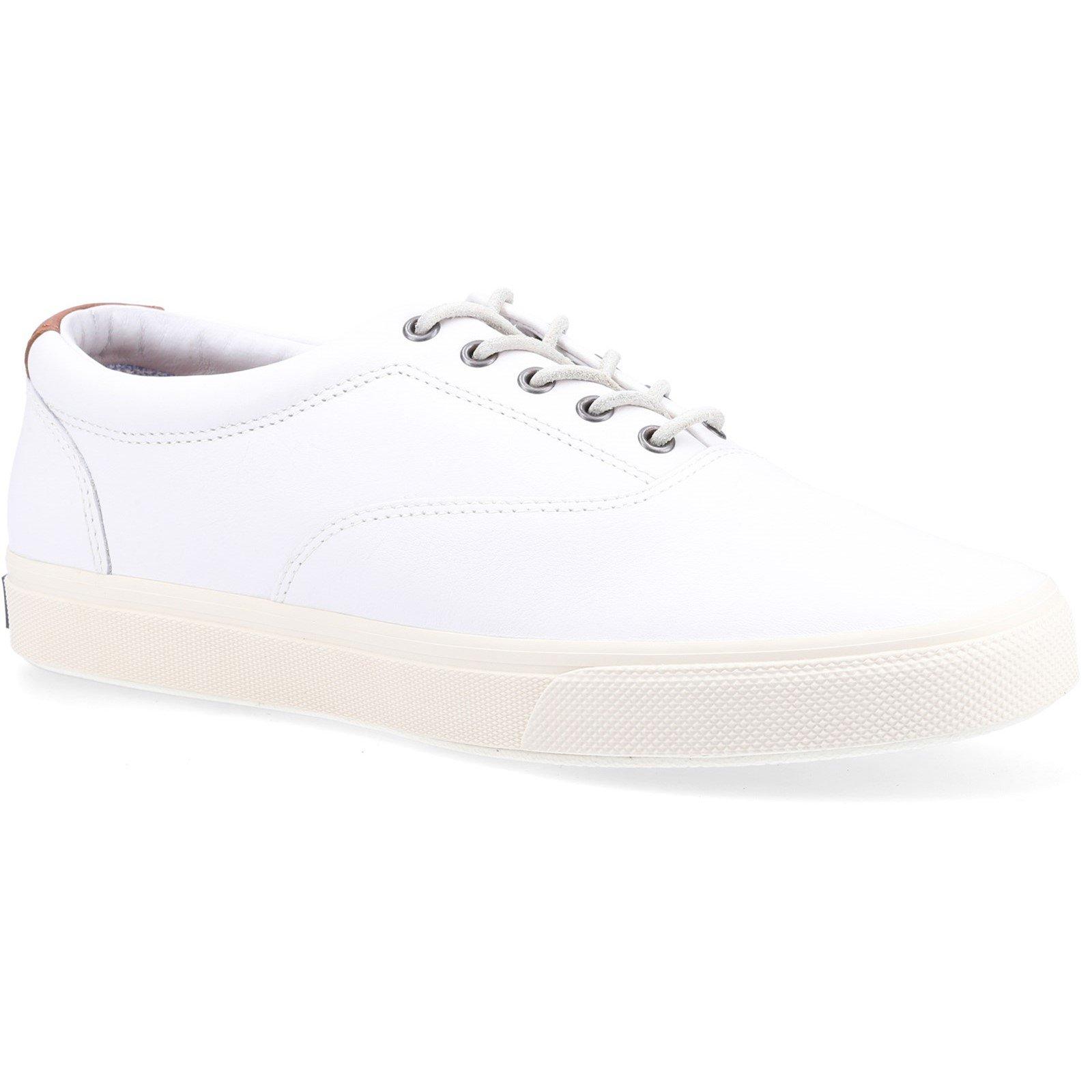 Sperry Men's Striper Plushwave CVO Trainer White 32401 - White 7