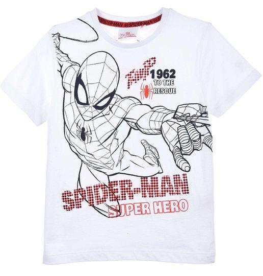 Marvel Spider-Man T-Shirt, White, 3 År