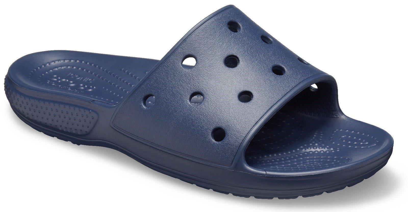 Crocs Unisex Classic Crocs Slide Sandal Various Colours 30608 - Navy 3