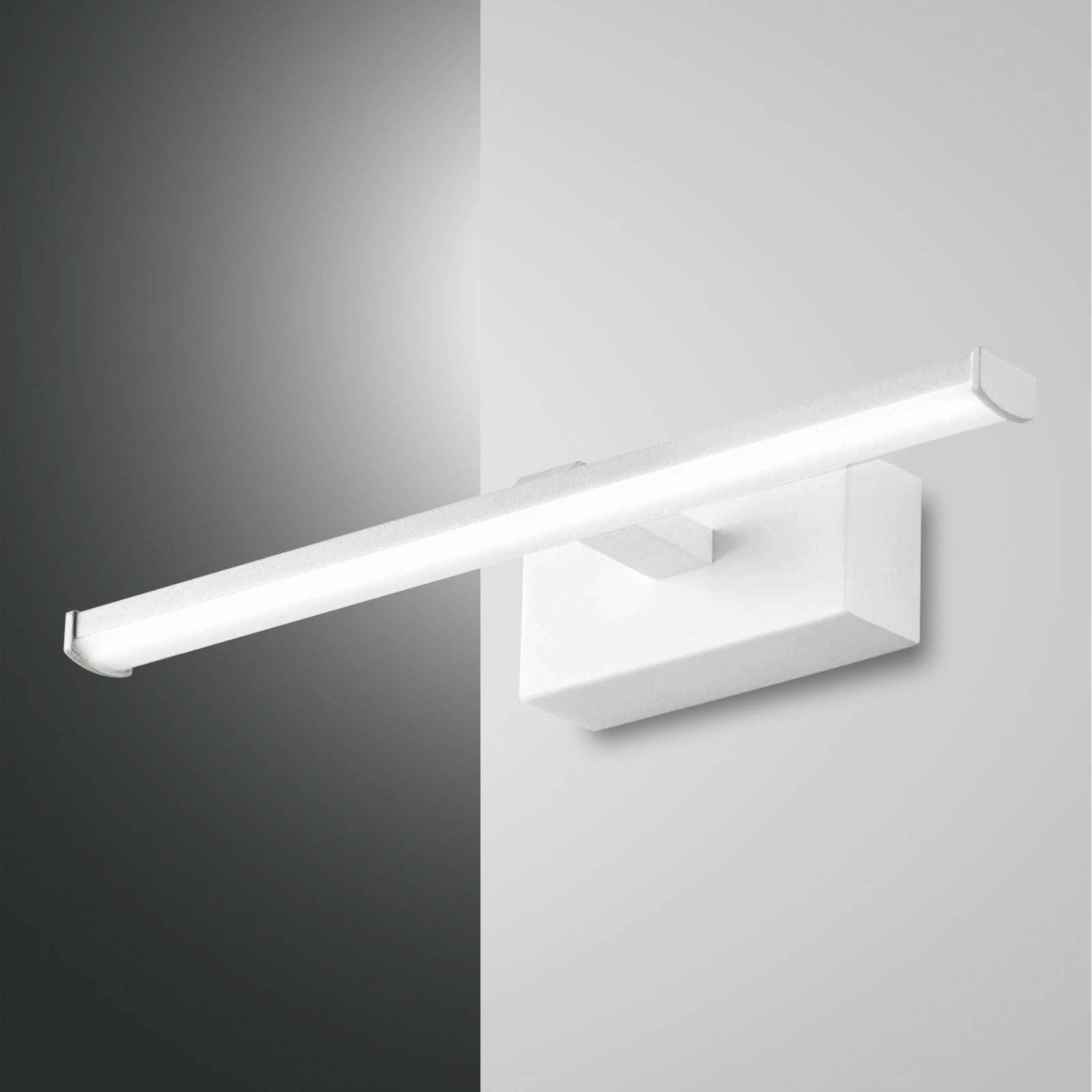 LED-vegglampe Nala, hvit, bredde 30 cm