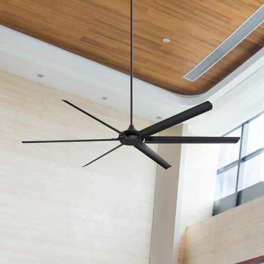 Westinghouse Widespan -kattotuuletin, musta