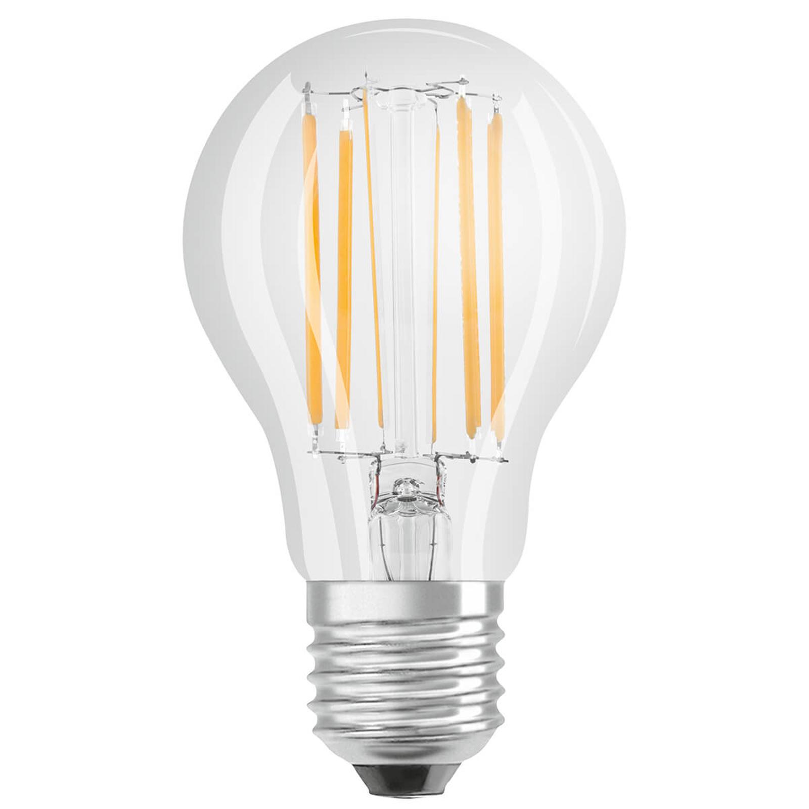 OSRAM-LED-lamppu E27 9W ClassicA 2 700 K kirkas