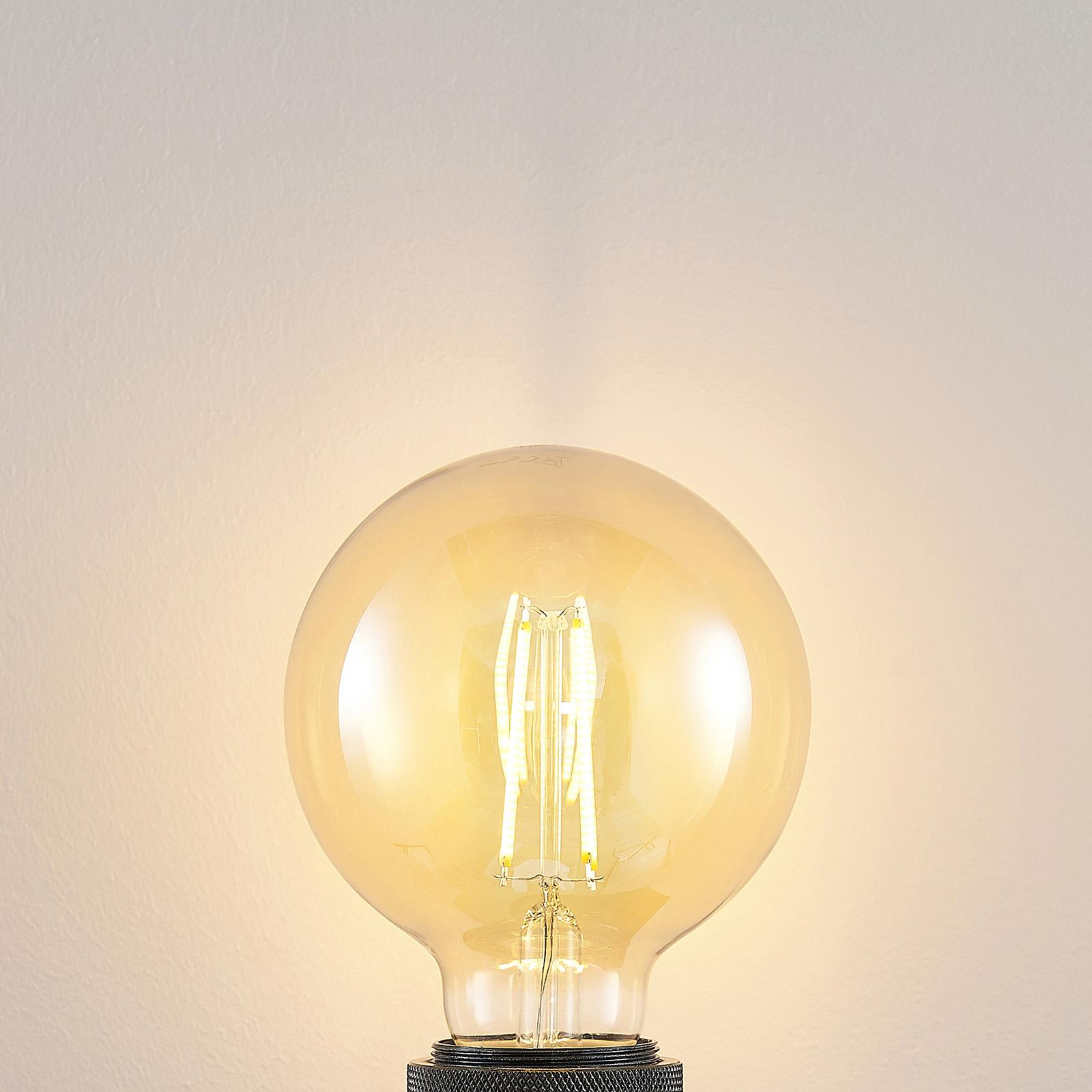 LED-lamppu E27 G95 6,5 W 2 500 K meripihka