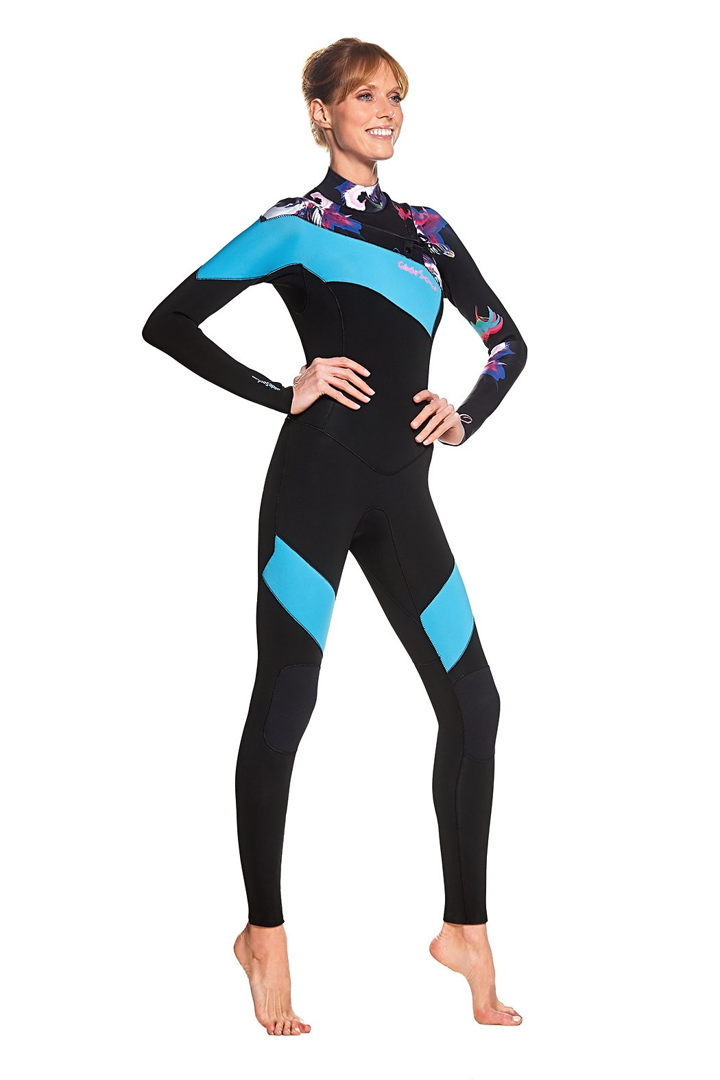 Bloom 3/2 Fully Taped GBS Chest Zip Full Suit / XXS