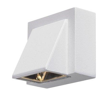 Carina Vegglampe 1 Lys Hvit