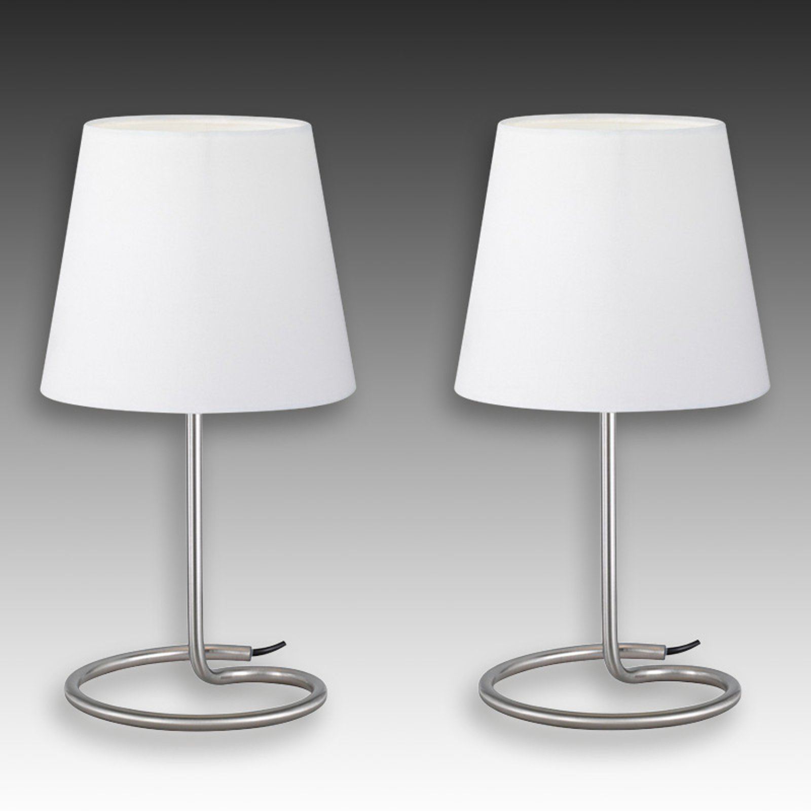 Twin - moderne bordlampesett