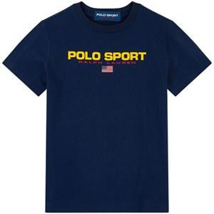 Ralph Lauren Polo Sports T-Shirt Marinblå 2 years